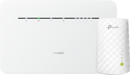 Huawei 4G Router 3 Pro (kat. 7) + TP-Link RE200