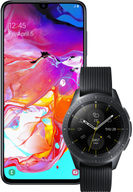 Samsung Galaxy A70 + Galaxy Watch 42mm