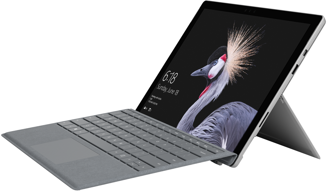 Microsoft Surface Pro + router