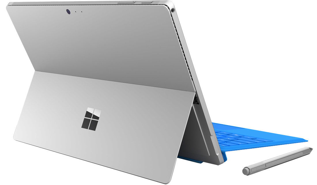 Microsoft Surface Pro 4 + router