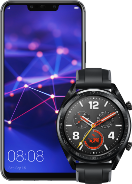 Huawei Mate 20 Lite + Watch GT