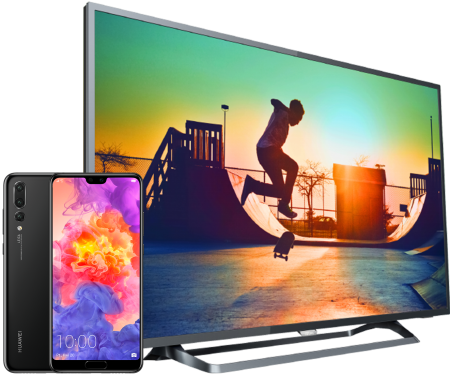 Huawei P20 PRO + TV Philips LED Smart 4K 50
