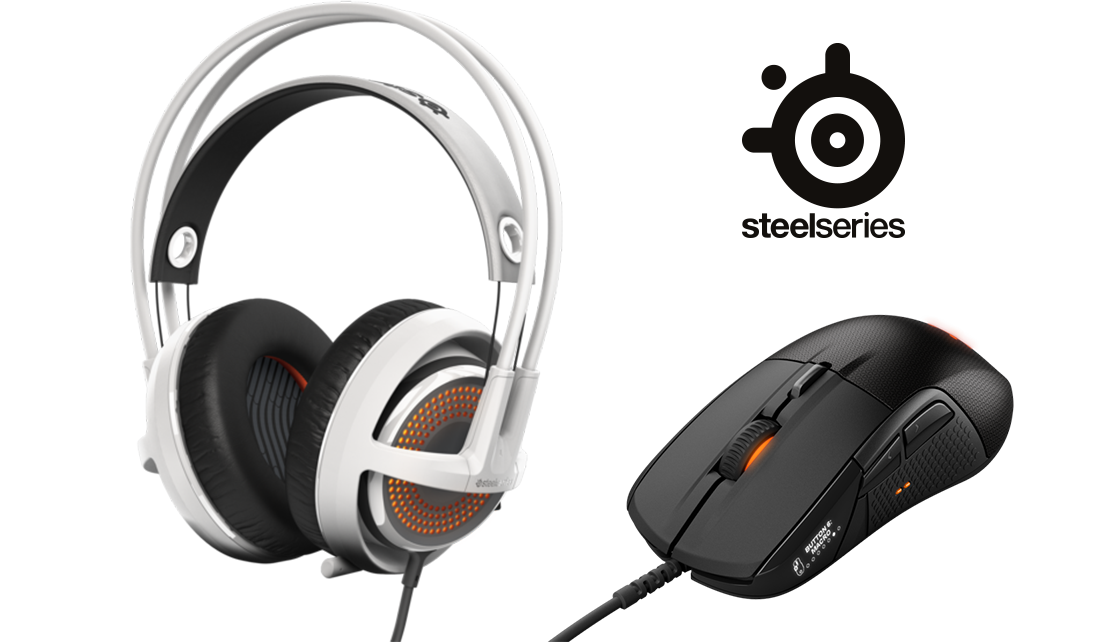 Steelseries SIBERIA + RIVAL